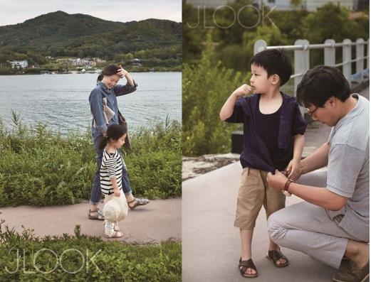 이영애, 쌍둥이와 전원생활…실제로 보니 '어마어마'(사진=J룩 이영애와 쌍둥이가 담긴 가족화보)