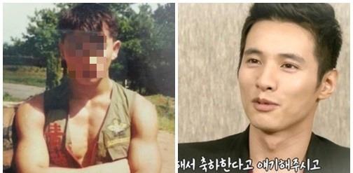 원빈 아버지 사진 논란 원빈 아버지 사진 논란 / 온라인 커뮤니티·한밤의 TV연예 방송 캡처