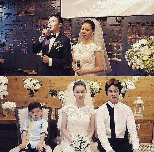 박시은과 진태현 결혼식 사진 / 사진 = 정태우 인스타그램