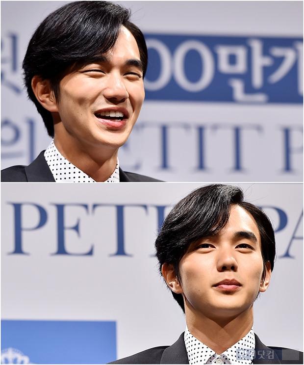 ↑유승호, '강렬 눈빛+살인미소 다 갖춘 남자'