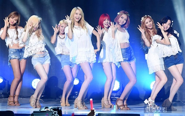 소녀시대 'Party', 음원차트 휩쓸어…첫 컴백무대는?(사진=변성현 한경닷컴 기자)