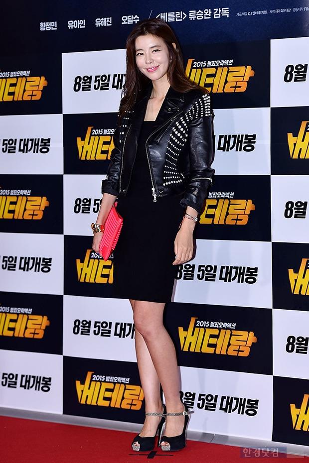 김규리, '몸매 그대로 드러낸 블랙 원피스'
