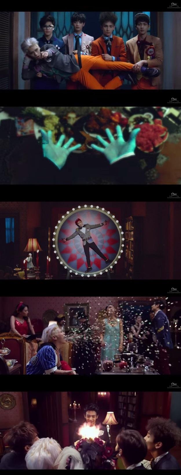 샤이니 / 샤이니 사진=샤이니 '메리드 투 더 뮤직' MV 캡처