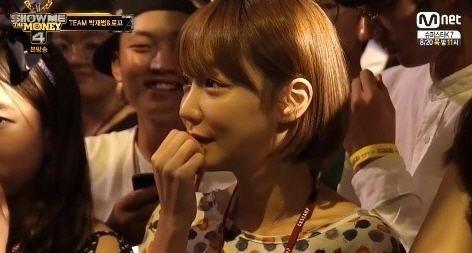 신소율 /  사진=엠넷 쇼미더머니4 방송화면 캡처