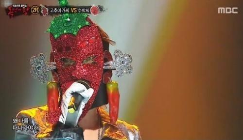 복면가왕 고추아가씨 / 복면가왕 고추아가씨 사진=MBC 방송 캡처
