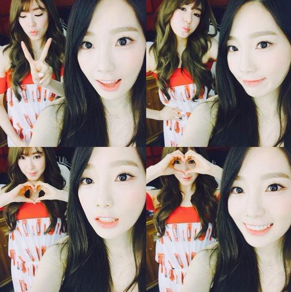 소녀시대 태연 티파니 / 사진=소녀시대 태연 인스타그램