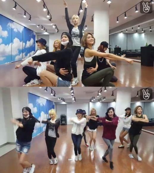 소녀시대 lion heart 소녀시대 lion heart 소녀시대 lion heart / 사진 = 네이버 V앱