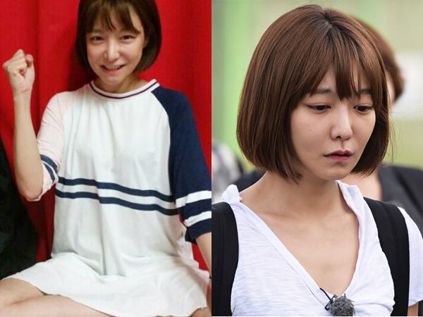'진짜 사나이-여군특집' 신소율 / 사진=가족액터스(좌) MBC예능연구소 페이스북