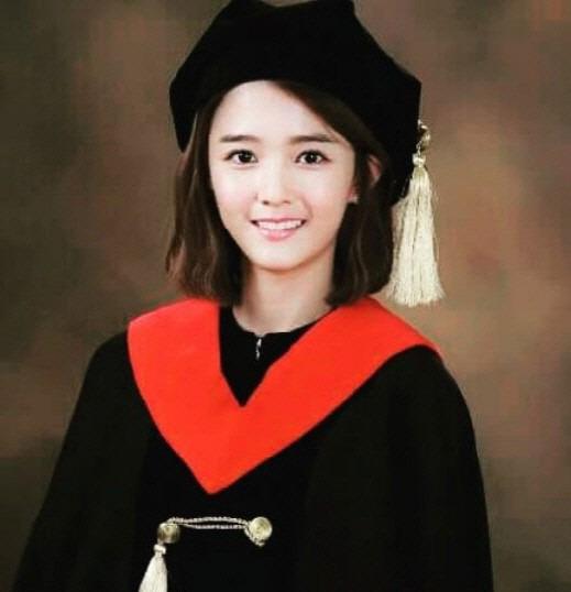 나 이제 대졸이야 남보라 졸업사진 / 남보라 SNS