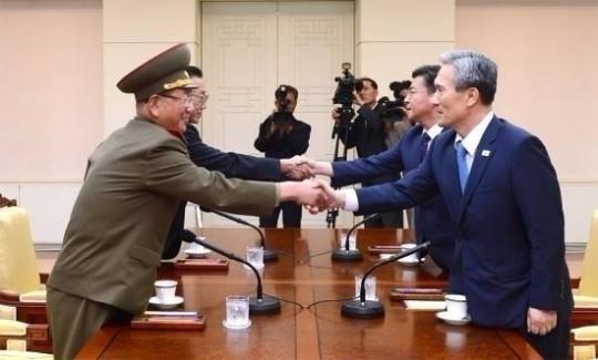 북한 유감 표명 남북 협상 타결. 사진=통일부 제공