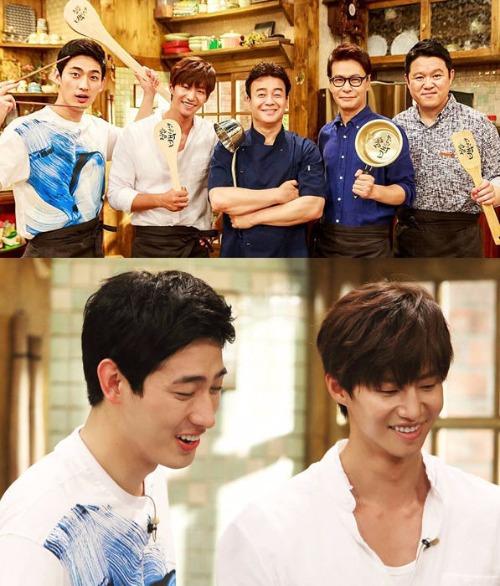 '집밥 백선생' 백종원,김구라,윤상,윤박,송재림 / 사진=tvN 인스타그램