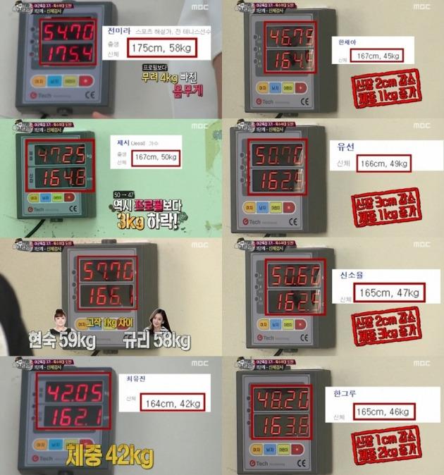 진짜사나이 신소율 한채아 제시 한그루 / 사진=방송화면 캡쳐
