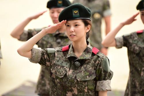 진짜사나이 최유진 / 사진 = MBC 제공