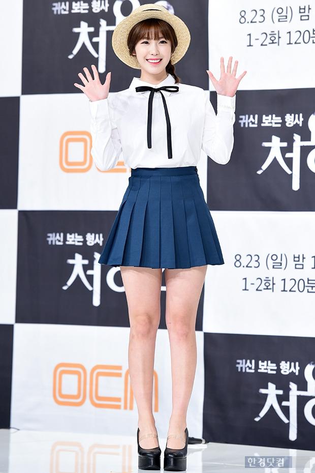 ▶ 전효성, '소녀처럼 상큼하게~'