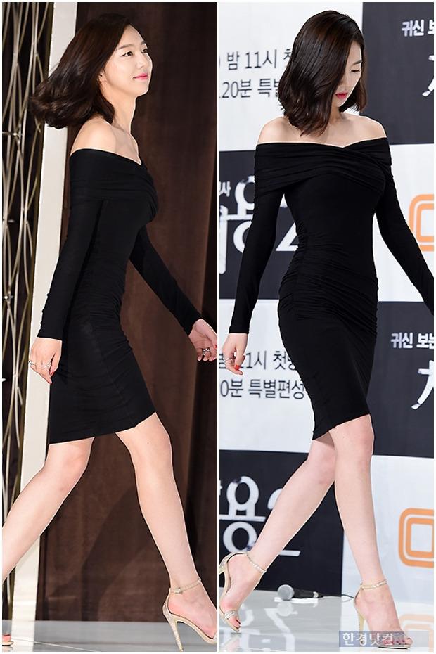 ▶ 하연주, '블랙 밀착 원피스에 고스란히 드러난 몸매~'