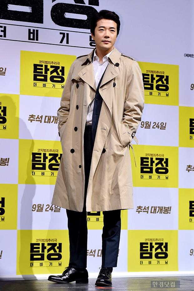 권상우, '우월한 트렌치코트 패션'
