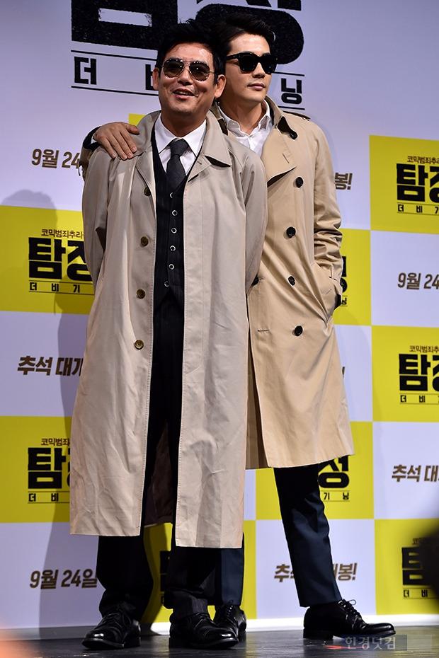 성동일-권상우, '영화에 잘 어울리는 트렌치코트 패션'
