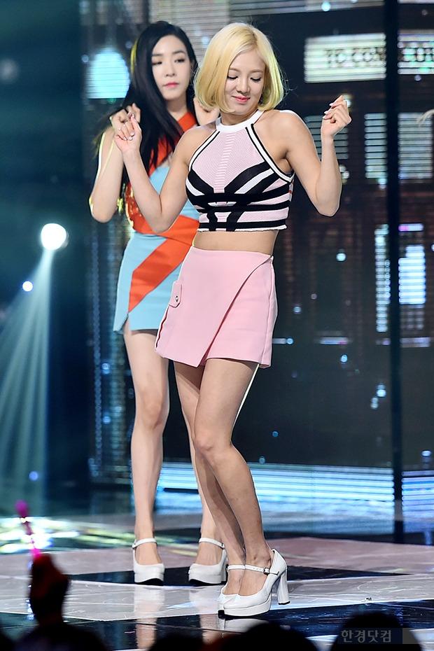 소녀시대 효연, 운동으로 완성한 몸매