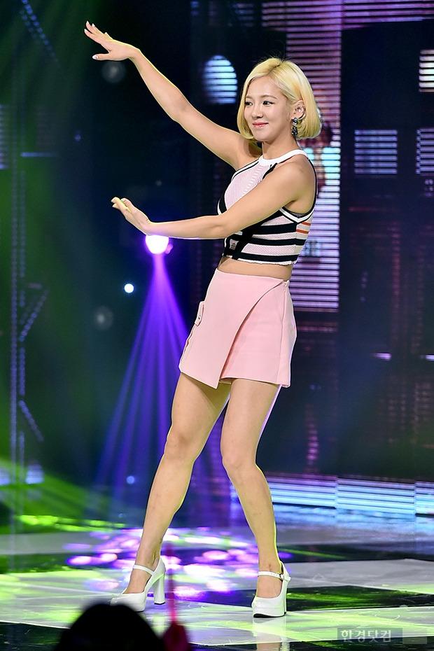 소녀시대 효연, 갈수록 날씬해지는 몸매