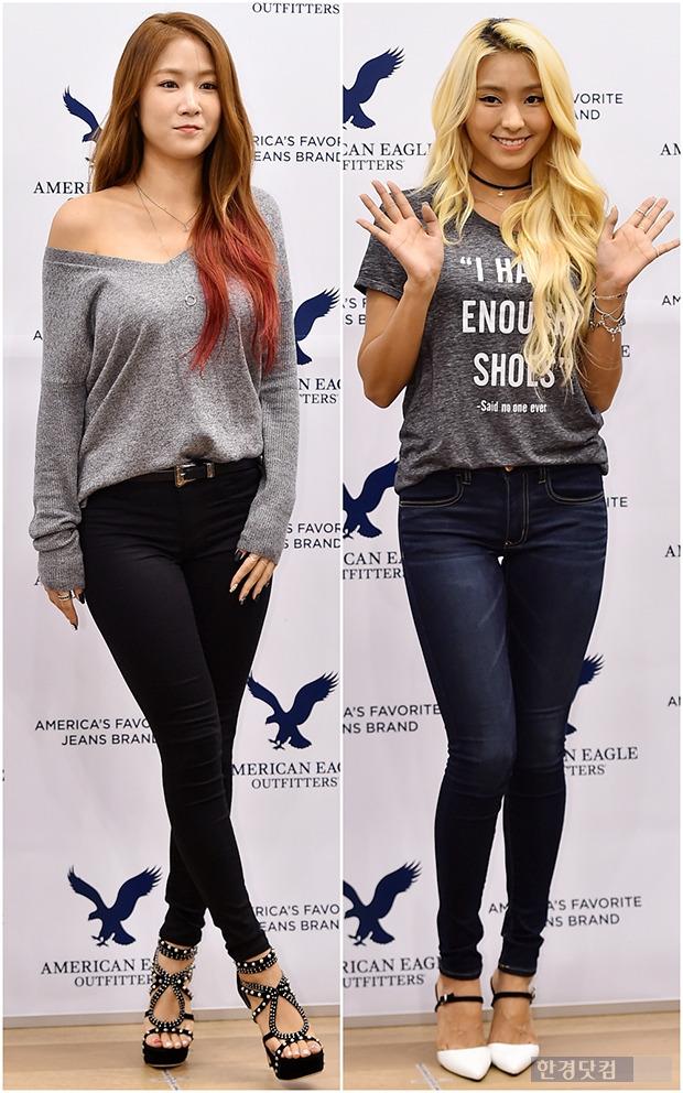 씨스타 소유-보라, 스키니진+티셔츠면 충분해 '아이돌 최고의 몸매 깡패'