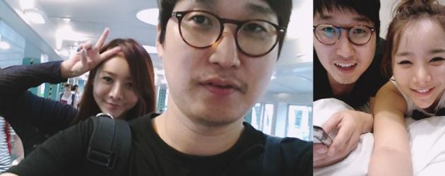 개그맨 조현민, 최설아 / 사진= 더커뮤니티