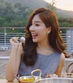연예인 주식부자 5위 함연지 / 함연지 사진 = 오뚜기 광고