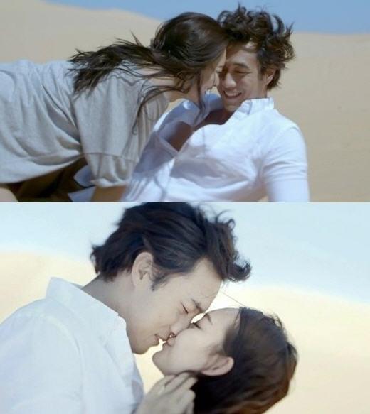신작 '오마이갓'에 출연한는 소지섭 신민아.  / 지오다노 CF
