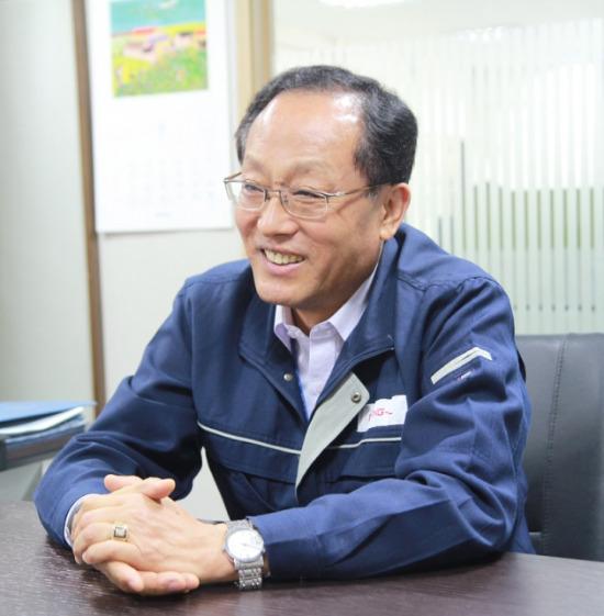 김익중 동일제강 대표이사. 사진=동일제강 제공