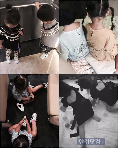 정형돈 한유라 쌍둥이 / 사진 = 한유라 인스타그램