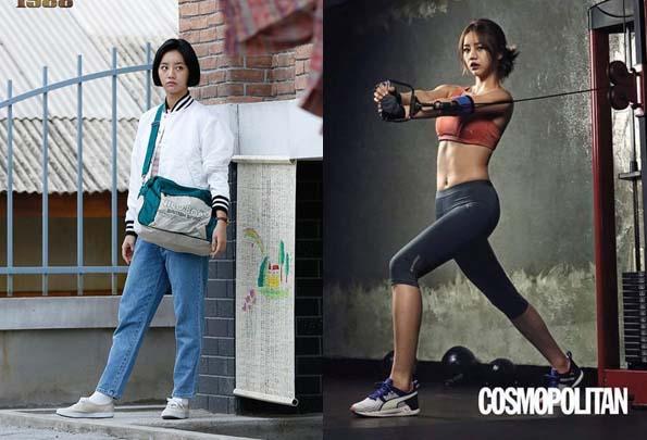 응답하라 1988 혜리 / tvN '응답하라 1988' 페이스북, 코스모폴리탄