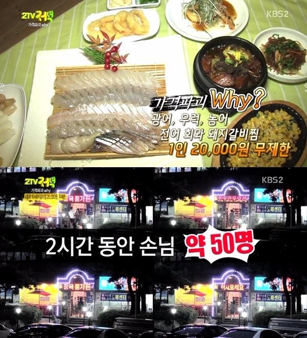 2TV 저녁 생생정보 무한리필 / 사진=KBS2 '2TV 저녁 생생정보' 방송화면 캡처