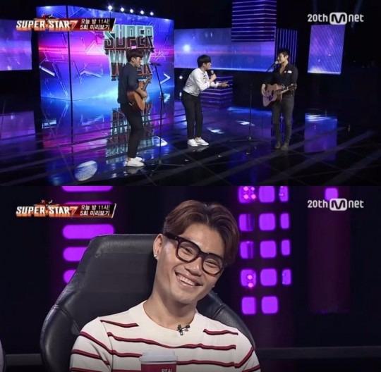 '슈퍼스타k7' 마틴 스미스 자밀 킴 / 사진=Mnet '슈퍼스타k7' 방송화면 캡처