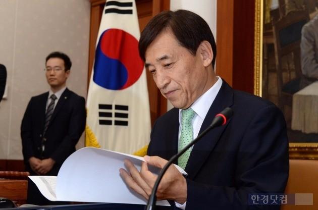 한국은행은 이주열 총재의 화폐개혁 발언에 대해 추진 의사 표현이 아니라고 해명했다. 사진=이주열 총재. 한경DB