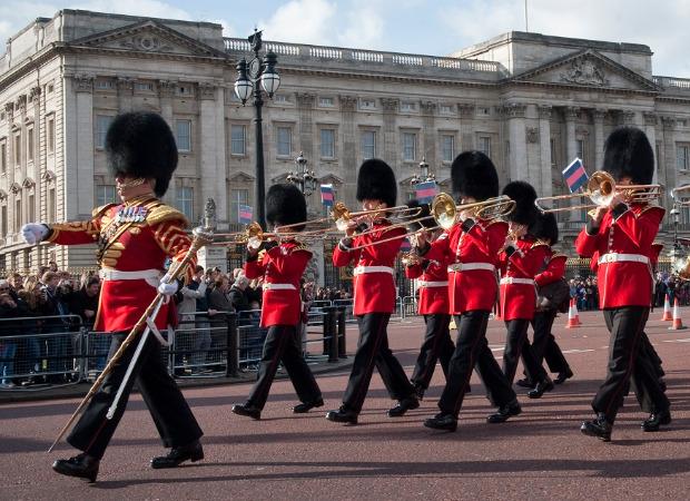 영국 왕실 근위병 군악대 ''밴드 오브 콜드스트림 가드'