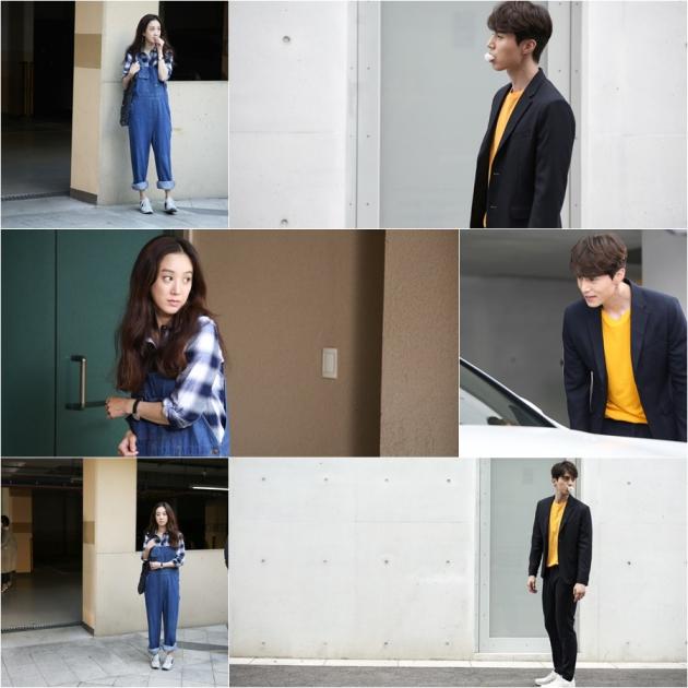 tvN 새 월화드라마 '풍선껌' 이동욱-정려원 /사진=CJ E&M