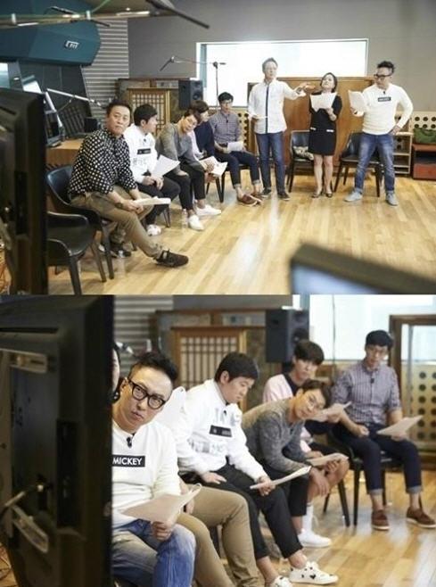 영화 '비긴어게인' 더빙을 맡게된 무한도전 멤버들 /MBC