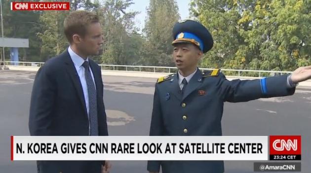 북한 로켓발사 임박 /CNN 캡쳐