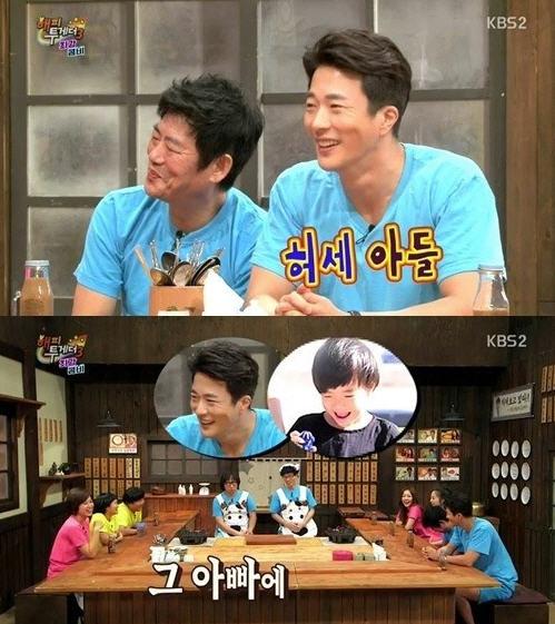 권상우 아들 룩희 /KBS2 '해피투게더' 캡쳐