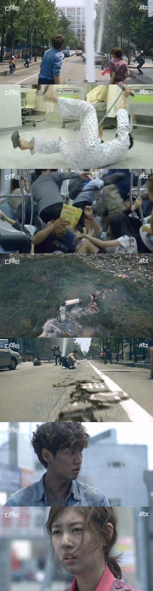 '디데이' 서울 지진 / 사진=JTBC '디데이' 방송화면 캡처