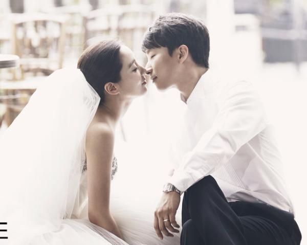 배우 이소연 웨딩화보 /사진=듀오웨드