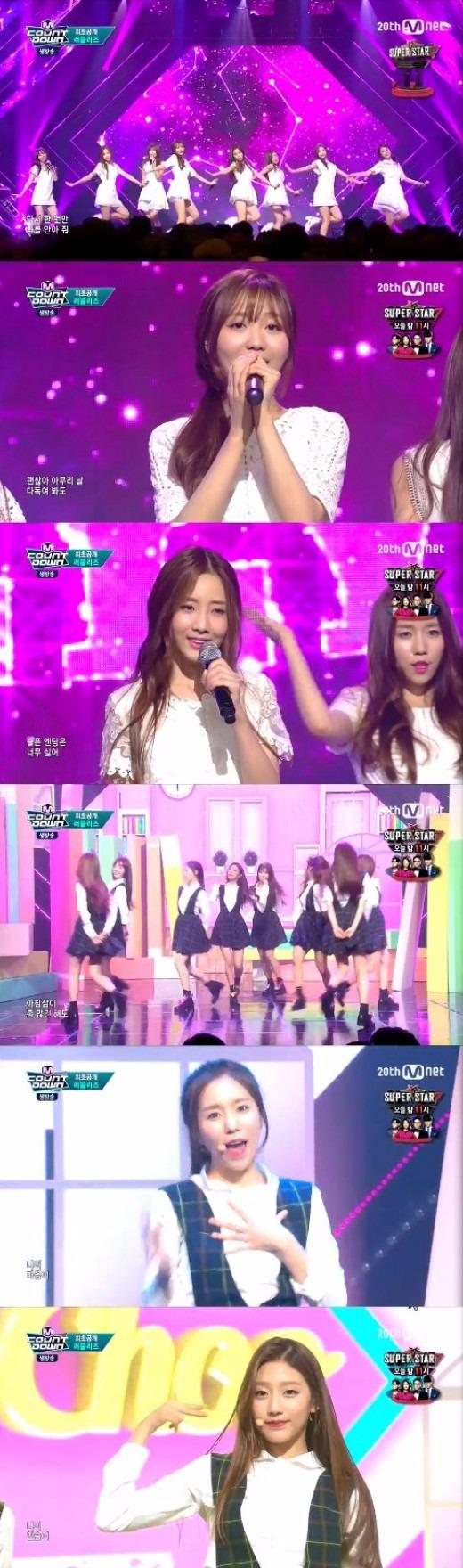 러블리즈 / 사진=Mnet '엠 카운트 다운' 방송화면 캡처