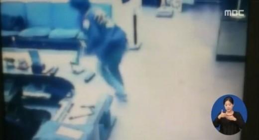 권총 실탄 탈취 홍씨, 우체국 털려고 범행 저질러…복면도 준비 / 사진=MBC 방송 캡처