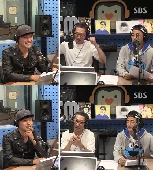 강현수 유재석 / 사진=SBS 파워FM '김창렬의 올드스쿨' 보이는 라디오 방송 캡처