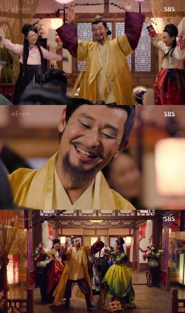 '육룡이 나르샤' 길태미 / 사진=SBS '육룡이 나르샤' 방송화면 캡처