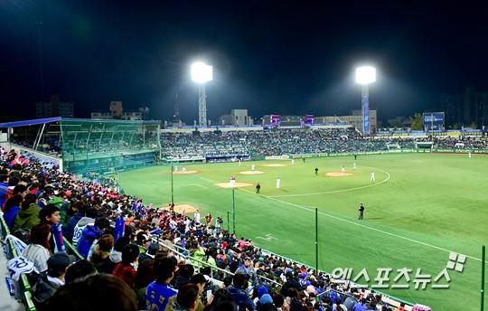 삼성 라이온즈의 홈구장인 대구시민야구장. 엑스포츠 제공