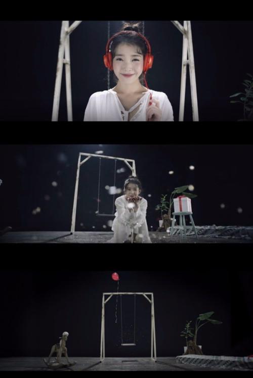아이유 '새 신발' / 사진=아이유 '새 신발' 티저영상 캡처