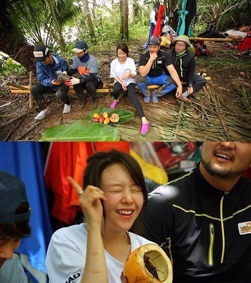 '정글의 법칙' 민아 / 사진=SBS '정글의 법칙'