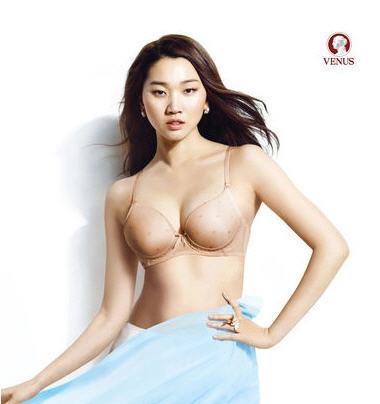 장윤주 가슴성형 논란 /비너스 화보