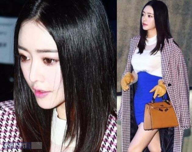 홍수아 서울패션위크 / 홍수아 인스타그램