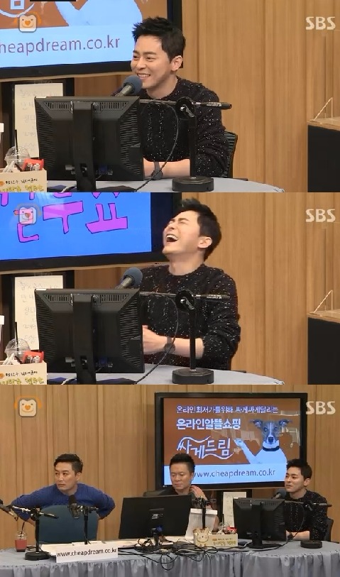 '컬투쇼' 조정석 / 사진=SBS 라디오 파워FM '두시탈출 컬투쇼' 방송화면 캡처